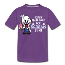 Load image into Gallery viewer, Ice Scream Fun T-Shirt - purple