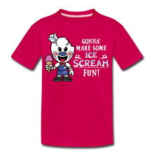 Load image into Gallery viewer, Ice Scream Fun T-Shirt - dark pink
