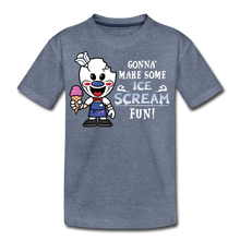Load image into Gallery viewer, Ice Scream Fun T-Shirt - heather blue