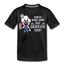 Load image into Gallery viewer, Ice Scream Fun T-Shirt - charcoal gray
