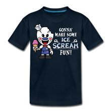Load image into Gallery viewer, Ice Scream Fun T-Shirt - deep navy