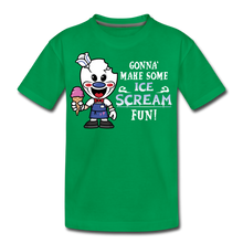 Load image into Gallery viewer, Ice Scream Fun T-Shirt - kelly green