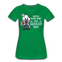 Load image into Gallery viewer, Ice Scream Fun T-Shirt (Womens) - kelly green