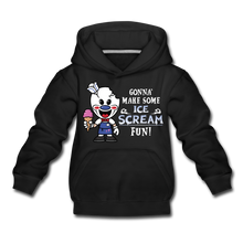 Load image into Gallery viewer, Ice Scream Fun Hoodie - black
