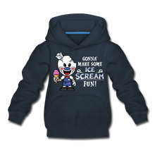 Load image into Gallery viewer, Ice Scream Fun Hoodie - navy