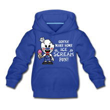Load image into Gallery viewer, Ice Scream Fun Hoodie - royal blue