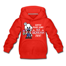 Load image into Gallery viewer, Ice Scream Fun Hoodie - red