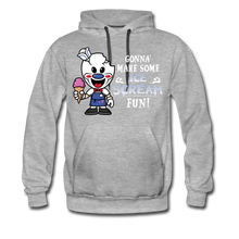 Load image into Gallery viewer, Ice Scream Fun Hoodie (Mens) - heather gray
