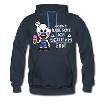 Load image into Gallery viewer, Ice Scream Fun Hoodie (Mens) - navy