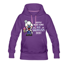 Load image into Gallery viewer, Ice Scream Fun Hoodie (Womens) - purple