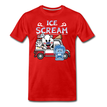 Load image into Gallery viewer, Ice Scream Truck T-Shirt (Mens) - red