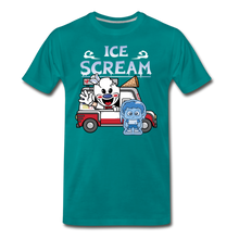 Load image into Gallery viewer, Ice Scream Truck T-Shirt (Mens) - teal