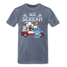 Load image into Gallery viewer, Ice Scream Truck T-Shirt (Mens) - heather blue