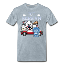 Load image into Gallery viewer, Ice Scream Truck T-Shirt (Mens) - heather ice blue