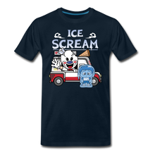 Load image into Gallery viewer, Ice Scream Truck T-Shirt (Mens) - deep navy