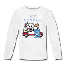 Load image into Gallery viewer, Ice Scream Truck Long-Sleeve T-Shirt - white