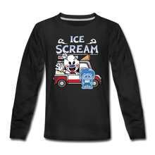 Load image into Gallery viewer, Ice Scream Truck Long-Sleeve T-Shirt - black
