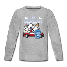 Load image into Gallery viewer, Ice Scream Truck Long-Sleeve T-Shirt - heather gray