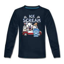 Load image into Gallery viewer, Ice Scream Truck Long-Sleeve T-Shirt - deep navy