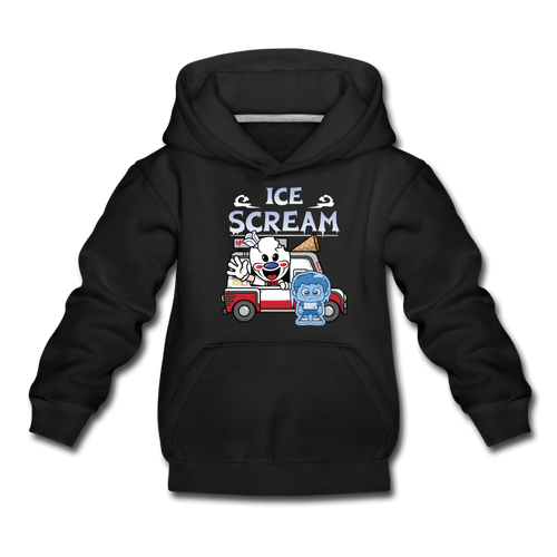 Ice Scream Truck Hoodie - black