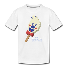 Load image into Gallery viewer, Ice Scream Pop T-Shirt - white
