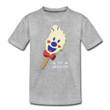 Load image into Gallery viewer, Ice Scream Pop T-Shirt - heather gray