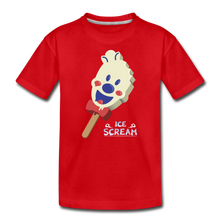 Load image into Gallery viewer, Ice Scream Pop T-Shirt - red