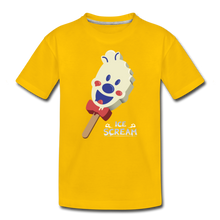 Load image into Gallery viewer, Ice Scream Pop T-Shirt - sun yellow