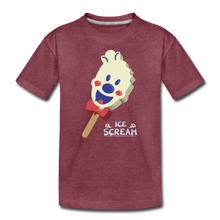 Load image into Gallery viewer, Ice Scream Pop T-Shirt - heather burgundy