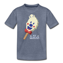 Load image into Gallery viewer, Ice Scream Pop T-Shirt - heather blue