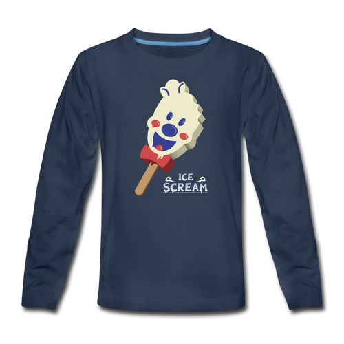 Ice Scream Pop Long-Sleeve T-Shirt - navy