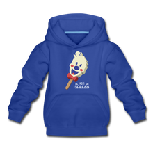 Load image into Gallery viewer, Ice Scream Pop Hoodie - royal blue