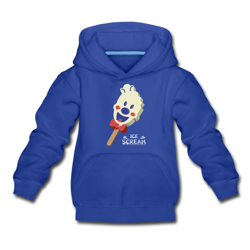 Ice Scream Pop Hoodie - royal blue