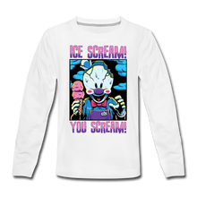 Load image into Gallery viewer, Ice Scream You Scream Long-Sleeve T-Shirt - white