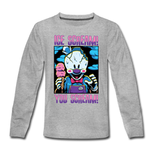 Load image into Gallery viewer, Ice Scream You Scream Long-Sleeve T-Shirt - heather gray