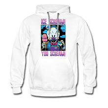 Load image into Gallery viewer, Ice Scream You Scream Hoodie (Mens) - white