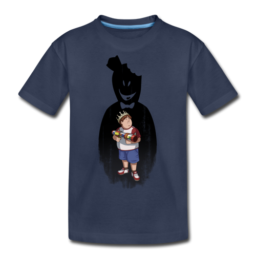 Charlie Ready To Attack T-Shirt - navy