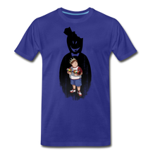 Load image into Gallery viewer, Charlie Ready To Attack T-Shirt (Mens) - royal blue