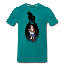 Load image into Gallery viewer, Charlie Ready To Attack T-Shirt (Mens) - teal