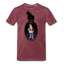 Load image into Gallery viewer, Charlie Ready To Attack T-Shirt (Mens) - heather burgundy