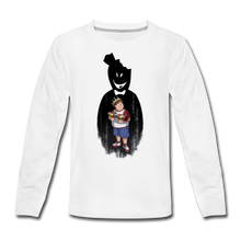 Load image into Gallery viewer, Charlie Ready To Attack Long-Sleeve T-Shirt - white