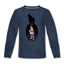 Load image into Gallery viewer, Charlie Ready To Attack Long-Sleeve T-Shirt - navy