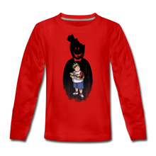 Load image into Gallery viewer, Charlie Ready To Attack Long-Sleeve T-Shirt - red