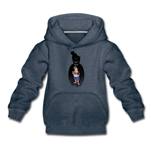 Charlie Ready To Attack Hoodie - heather denim