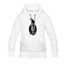 Load image into Gallery viewer, Charlie Ready To Attack Hoodie (Womens) - white