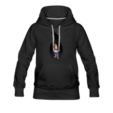 Load image into Gallery viewer, Charlie Ready To Attack Hoodie (Womens) - black