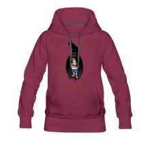 Load image into Gallery viewer, Charlie Ready To Attack Hoodie (Womens) - burgundy