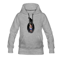 Load image into Gallery viewer, Charlie Ready To Attack Hoodie (Womens) - heather gray
