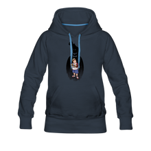Load image into Gallery viewer, Charlie Ready To Attack Hoodie (Womens) - navy