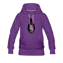 Load image into Gallery viewer, Charlie Ready To Attack Hoodie (Womens) - purple
